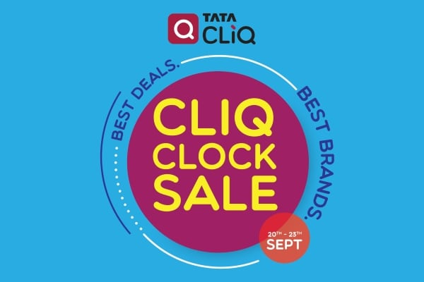 Tata Cliq CLiQ CLOCK Sale Extended Till 28th Sept 2017, Time To Shop for Diwali 2017