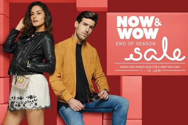 Tata Cliq Now and Wow End of Season Sale: 1st to 15 Jan 2018, Begin Your New Year With a Bang