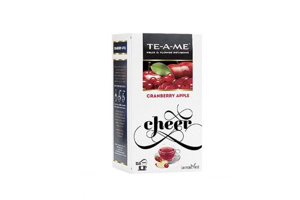 Best Herbal teas, Tea-A-Me Cranberry tea