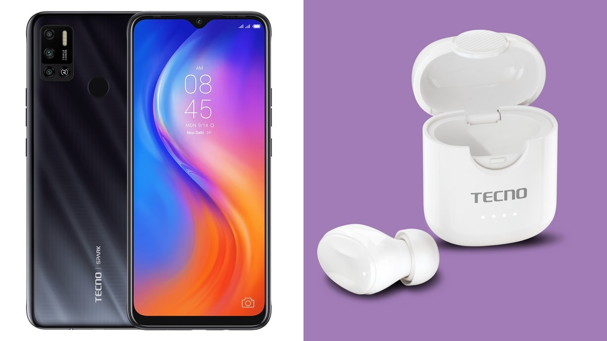 Tecno Spark 6 Air Smartphone, Minipod M1 Single-Ear Wireless Earbud Launched: Price in India, Specifications