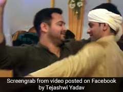 Watch: Lalu Yadav's 'Desi Boys' Dance At Tej Pratap's Wedding