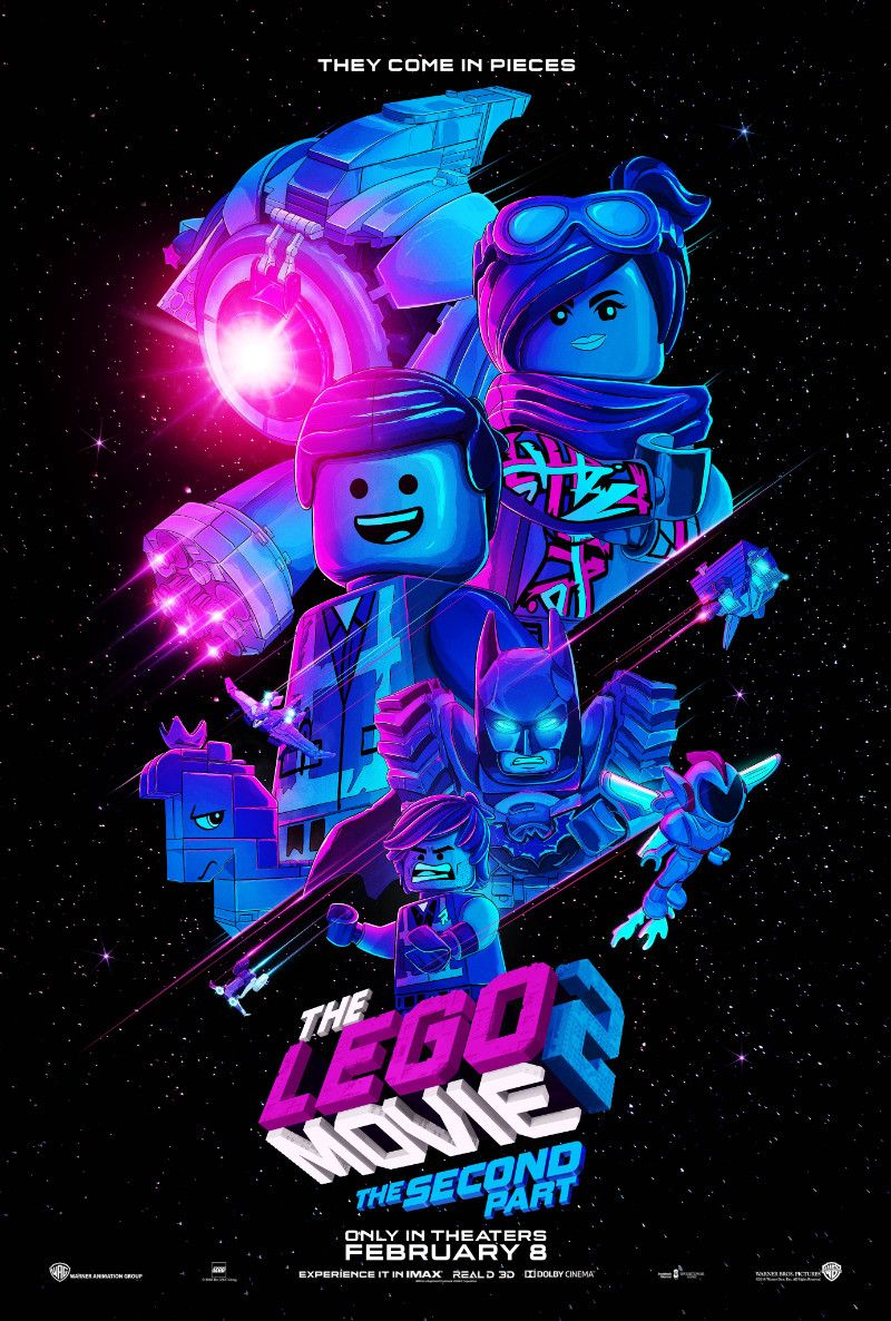 The Lego Movie 2 (3) The Lego Movie 2