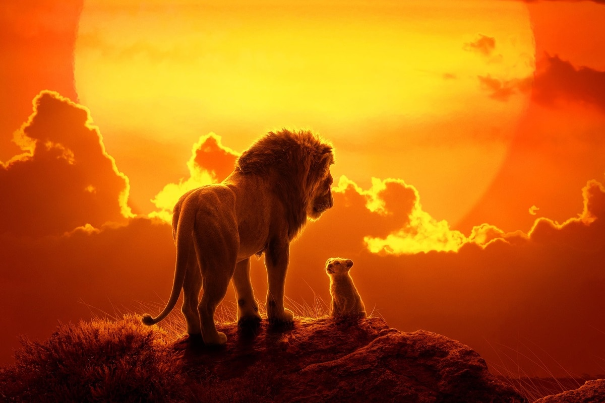 The Lion King Out Now in India in English, Hindi, Tamil, and