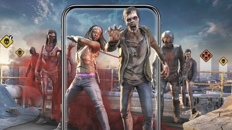 The Walking Dead: Our World AR Game Now Available for Android, iOS