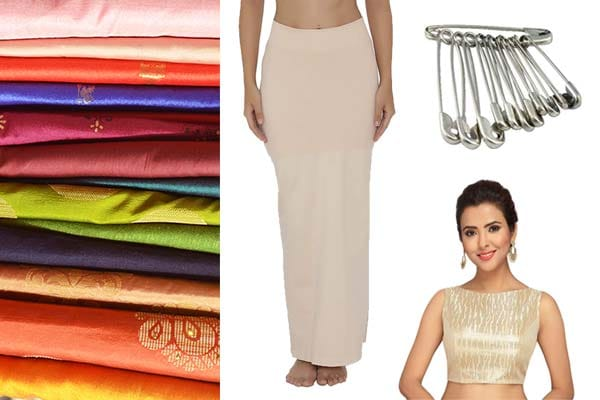 Things you need to wear a saree 1560424709291