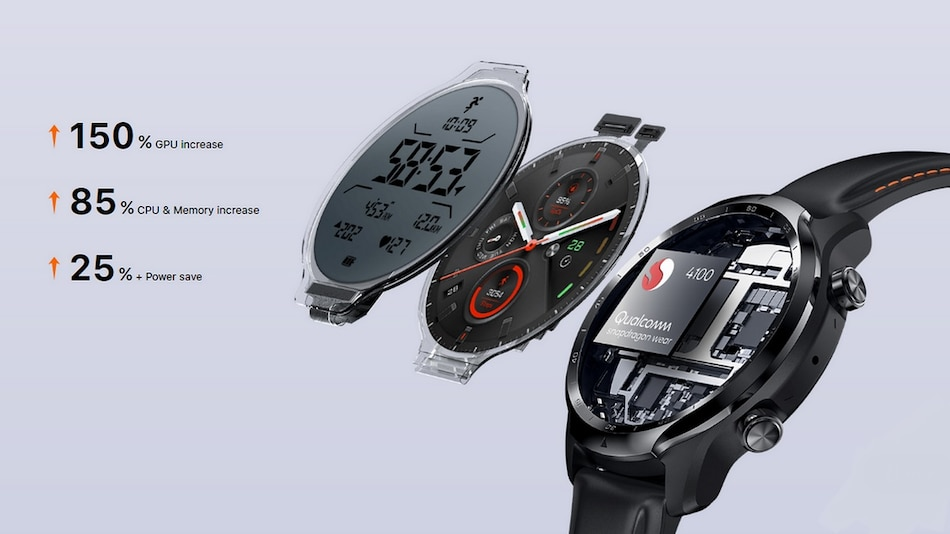 TicWatch Pro 3 GPS With Snapdragon Wear 4100 SoC, Up to 72 Hours Battery Life Launched