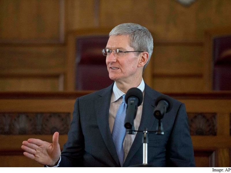 Apple CEO Calls EU Ruling on Irish Tax Deal 'Total Political Crap'