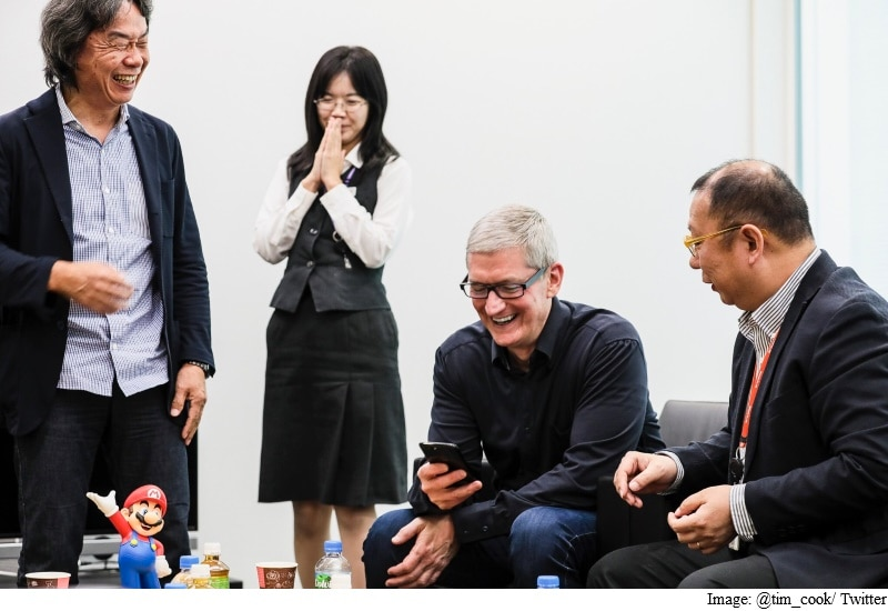 Apple CEO Tim Cook Visits Nintendo Headquarters in Kyoto