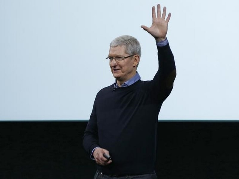 Apple CEO Tim Cook Says He Is 'Open to Acquisitions of Any Size'