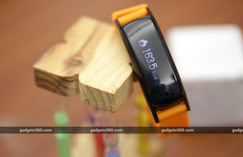 Timex Blink Calories NDTV Timex Blink Review