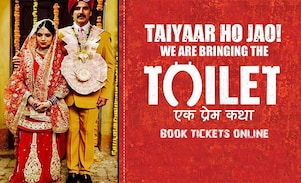 Toilet Ek Prem Katha Book Movie Tickets Online, Top Movie Tickets Offers, Promocodes