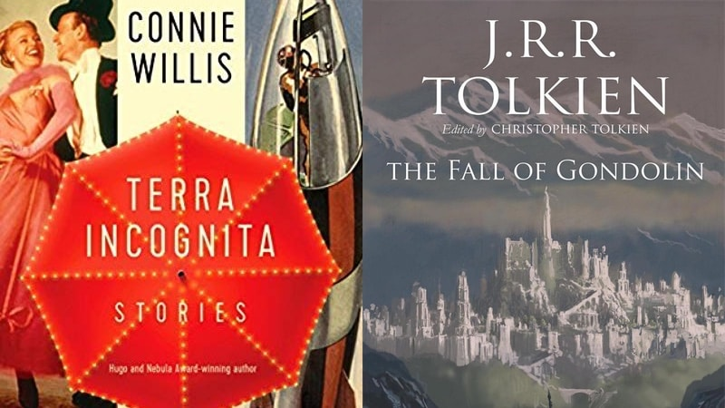JRR Tolkein's The Fall of Gondolin and Other Books Releasing This August