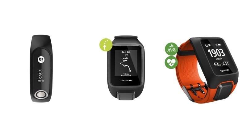 TomTom Spark 3, Touch, Adventurer Fitness Tracking Wearables Launched in India