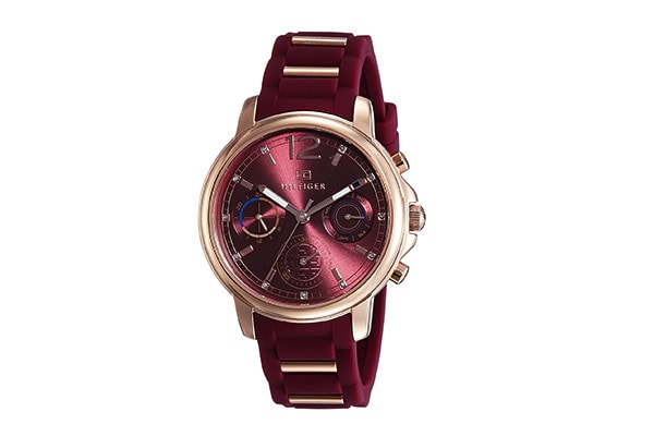 Tommy Hilfiger Analog Red Dial Womens Watch 1609074767245