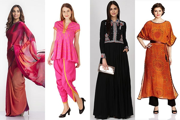 Top Women Ace Designers You Can Swear By For Ethnic Wear Photo Credit   Labelritukumar com  Satyapaul com  Amazon com. Top Women Ace Designers You Can Swear By For Ethnic Wear 1507891325843 jpg