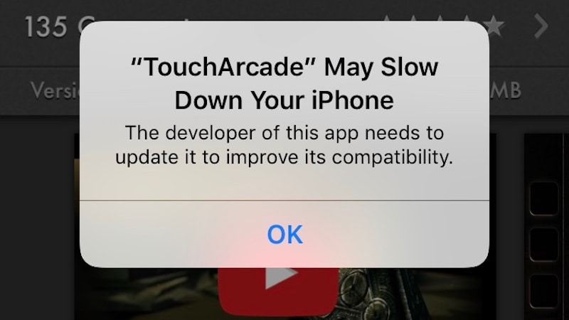 iOS 10 1 Adds 'App May Slow Down Your iPhone' Warning for 32-Bit