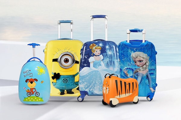 Best Travel Trolley Bags For Kids