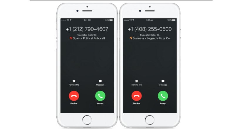 iphone caller id truecaller for iphone finally gets real time spam 11676