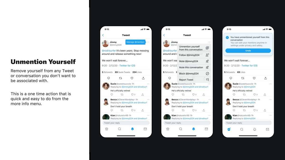 Twitter reactions privacy testing ada