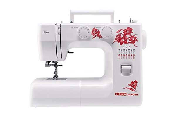 USHA JANOME Allure DLX Electric Sewing Machine 1613576998364