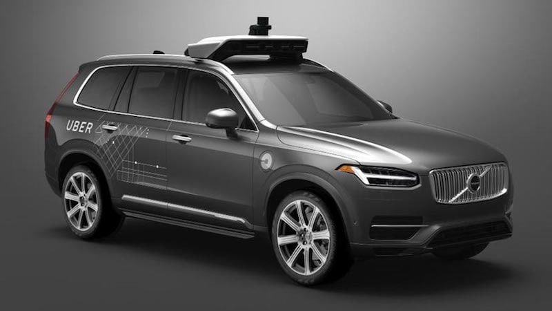 Uber Says It's Nearing Autonomous Cars Without Human Backup Driver