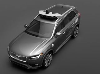 Uber Orders 100 Self-Driving Vehicles From Volvo
