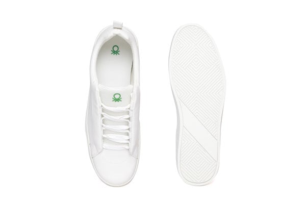 United Colours of Benetton White Sneakers