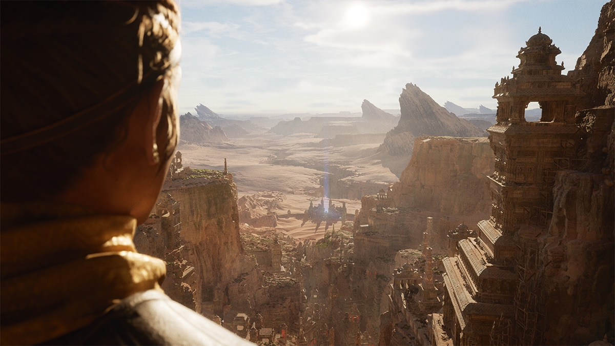 See These Gorgeous Unreal Engine 5 PS5 Demo Screenshots
