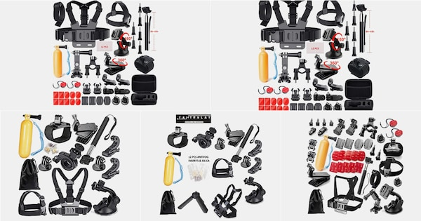 Best Action Camera Accessory Kits: Make Photography Fun
