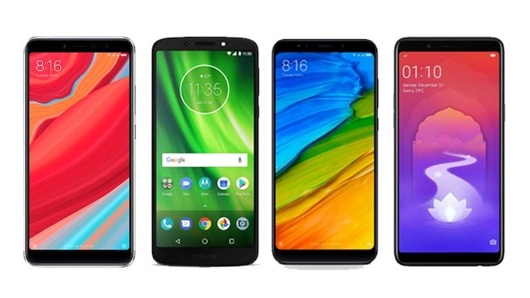 Redmi Y2, Moto G6 Play, Redmi Note 5 और Realme 1 में किसे खरीदना फायदेमंद?