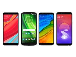 Xiaomi Redmi Y2 vs Moto G6 Play vs Redmi Note 5 vs Oppo Realme 1: Price in India, Specifications, Features Compared