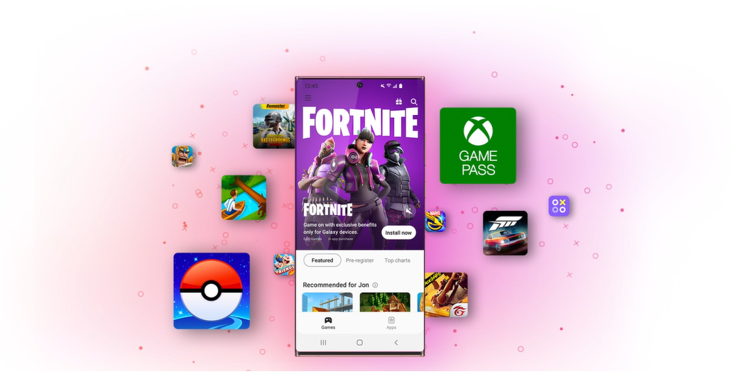Samsung Redesigns Galaxy Store, Puts More Focus on Gaming
