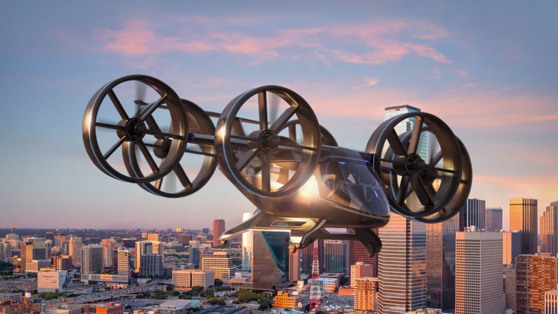 Uber Partner Reveals First Full-Scale Design of Upcoming Air Taxi Vehicle at CES 2019