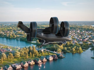 Uber's Upcoming Flying Taxis May Look Something Like This