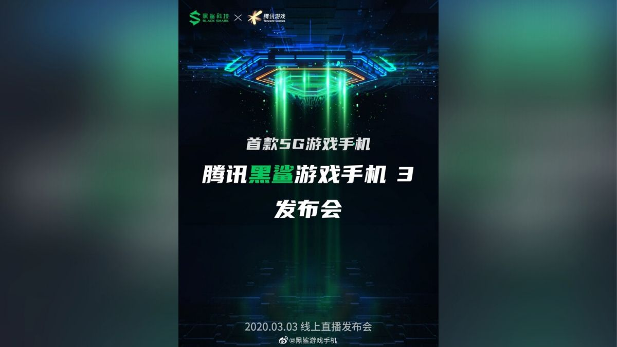 Black Shark 3 with 12GB RAM and Android 10 Spotted on Geekbench