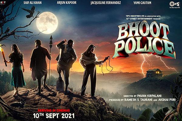 New Hindi Movies Bhoot Police 1622568886087