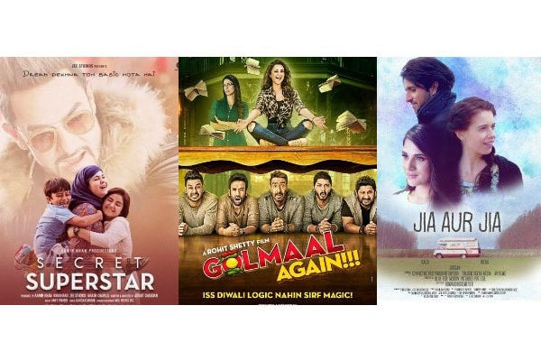 Bollywood Movies List in October 2017
