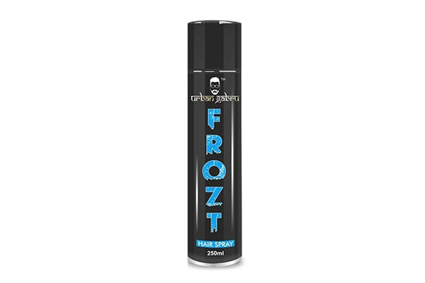UrbanGabru Frozt Hair Spray Extreme Hold 1611602977362