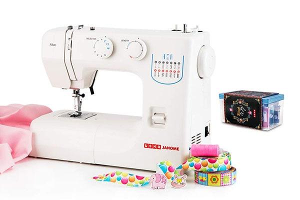 Usha Janome Allure Automatic Zig Zag Electric Sewing Machine 1613576902042