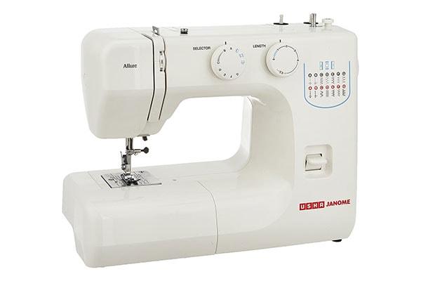 Usha Janome Allure Automatic Zig Zag Electric Sewing Machine wt 1613577200052
