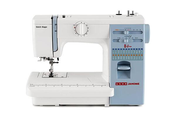 Usha Janome Automatic Stitch Magic 60 Watt Sewing Machine 1613577124353