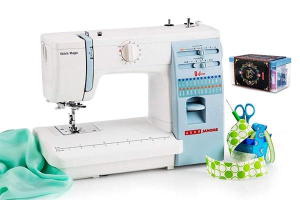 Usha Janome Automatic Stitch Magic Sewing Machine 1613577092171
