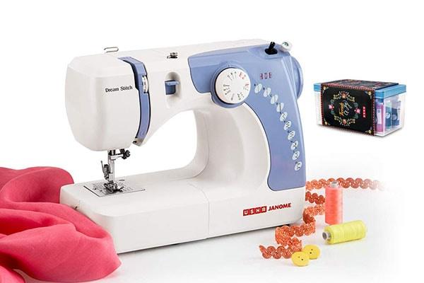 Usha Janome Dream Stitch Automatic Zig Zag Electric Sewing Machine 1613576633672