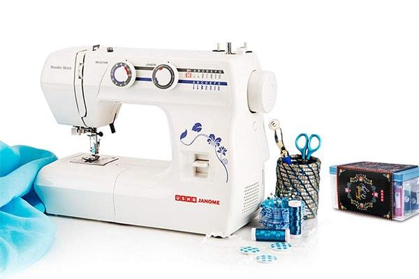 Usha Janome Wonder Stitch Automatic Zig Zag Electric Sewing Machine 1613576663679