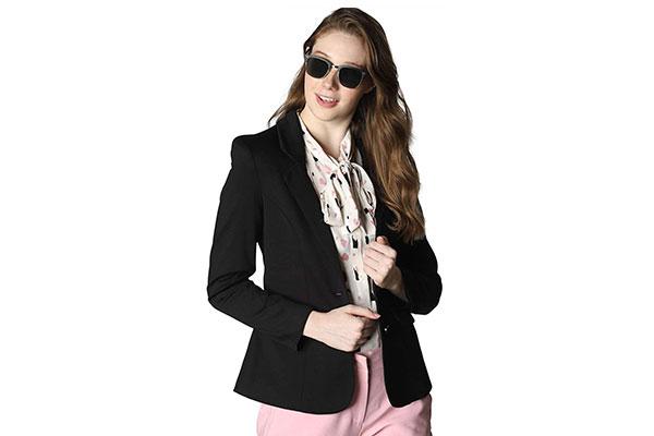 VERO MODA Womens Regular Fit Blazer 1614550170197