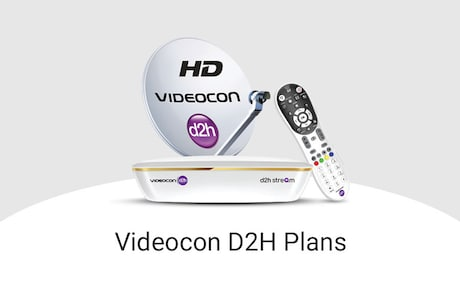 Videocon D2H Recharge Plans, Packages And Prices 2021