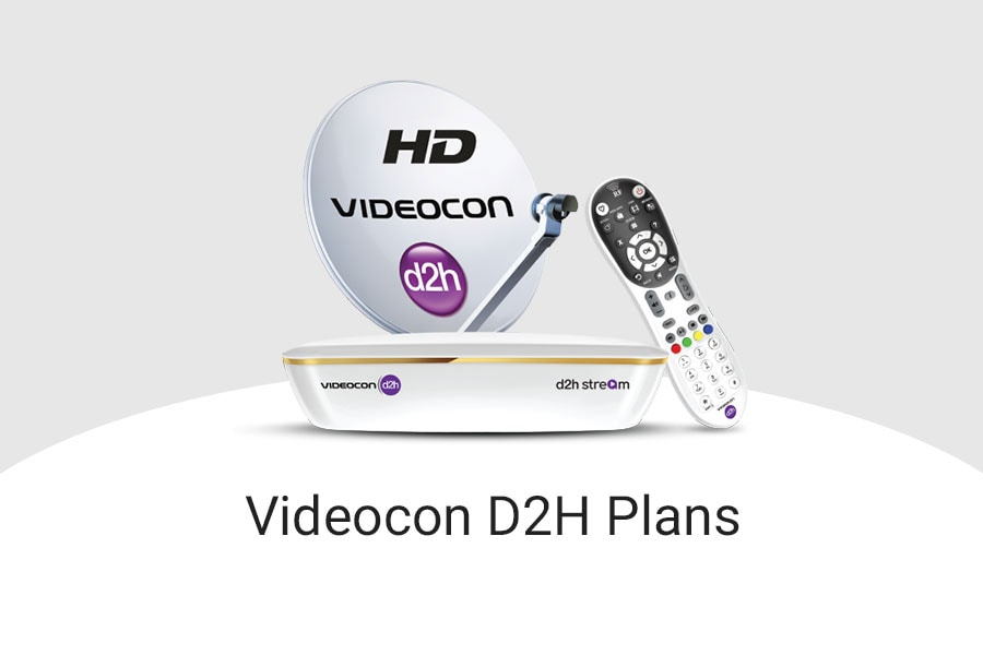 Videocon D2H Plans 2019, Videocon D2H Recharge Packs with Price