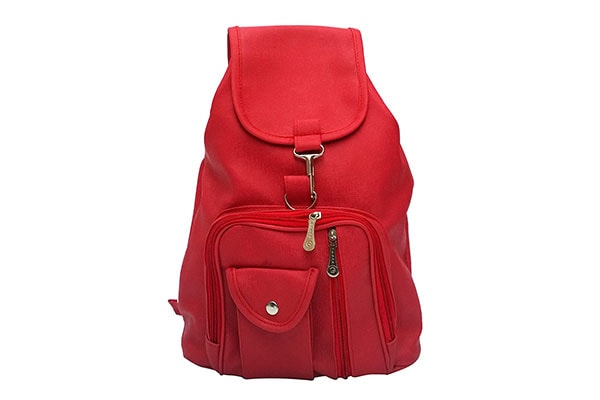 Vintage Red Casual Backpack 1614875099223