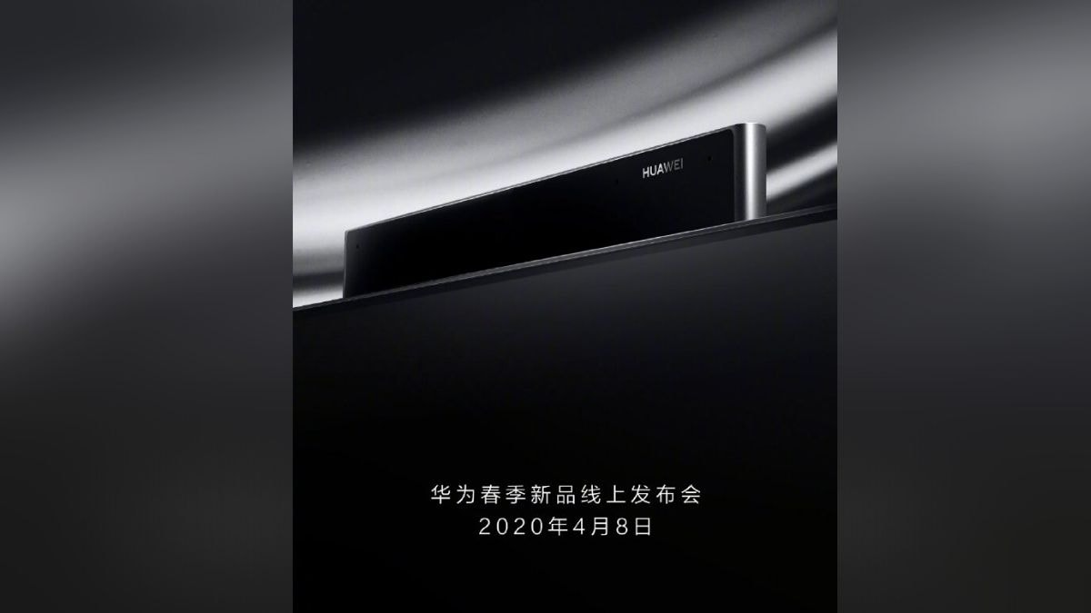 Huawei Vision Smart TV With Pop-Up Camera to Launch on April 8 with Huawei P40 Series
