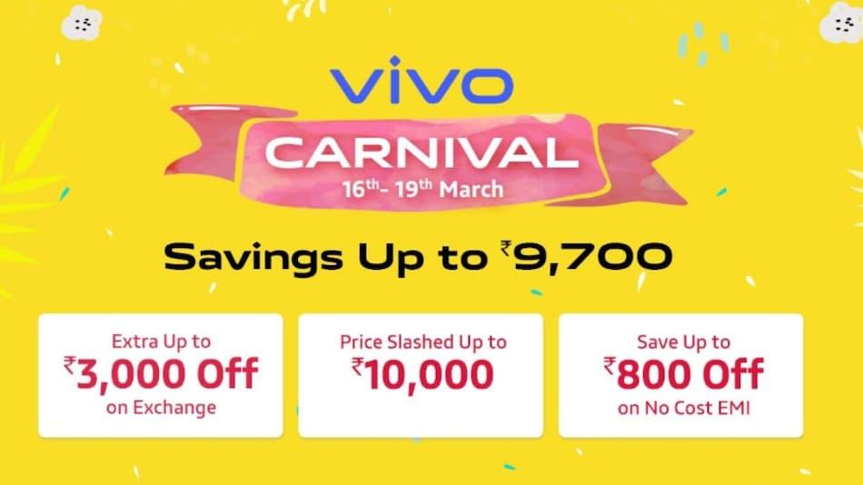 Vivo Carnival Sale में इन Vivo स्मार्टफोन पर मिल रही है छूट, कई और ऑफर्स उपलब्ध